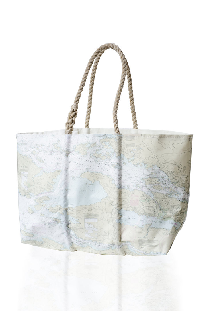Large Modern Chart Tote