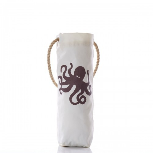 Octopus Print Wine Bag
