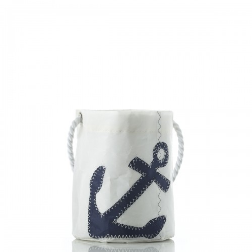 Navy Anchor Bucket Bag
