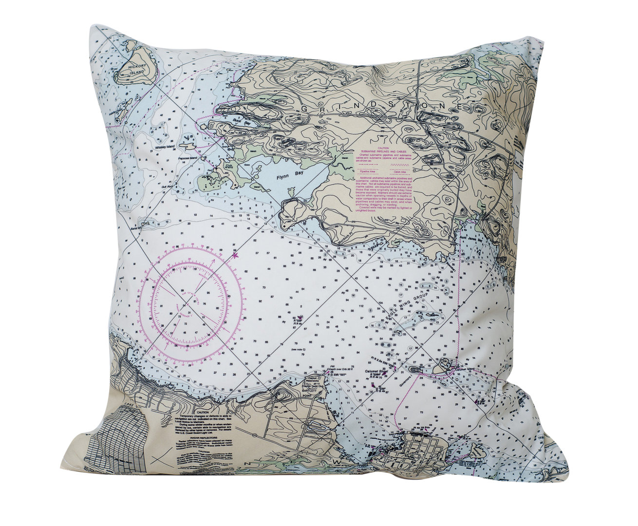 Clayton Chart Pillow