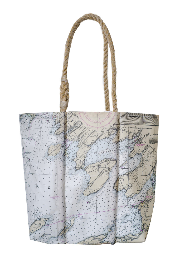 Chaumont Chart Tote